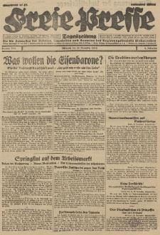 Freie Presse, Nr. 279 Mittwoch 28. November 1928 4. Jahrgang