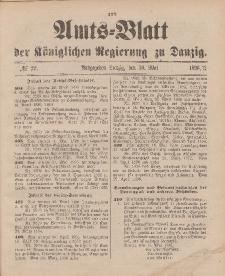 Amts-Blatt der Königlichen Regierung zu Danzig, 30. Mai 1896, Nr. 22