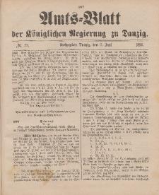 Amts-Blatt der Königlichen Regierung zu Danzig, 6. Juni 1896, Nr. 23