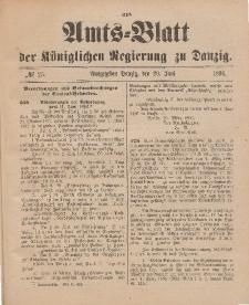 Amts-Blatt der Königlichen Regierung zu Danzig, 20. Juni 1896, Nr. 25