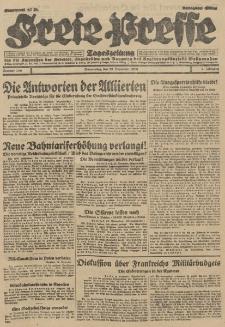 Freie Presse, Nr. 280 Donnerstag 29. November 1928 4. Jahrgang