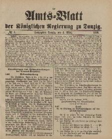 Amts-Blatt der Königlichen Regierung zu Danzig, 4. März 1899, Nr. 9
