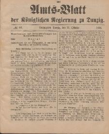 Amts-Blatt der Königlichen Regierung zu Danzig, 31. Oktober 1896, Nr. 44