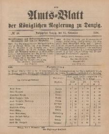 Amts-Blatt der Königlichen Regierung zu Danzig, 14. November 1896, Nr. 46