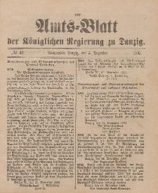Amts-Blatt der Königlichen Regierung zu Danzig, 5. Dezember 1896, Nr. 49