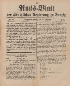 Amts-Blatt der Königlichen Regierung zu Danzig, 12. Dezember 1896, Nr. 50