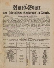 Amts-Blatt der Königlichen Regierung zu Danzig, 18. März 1899, Nr. 11