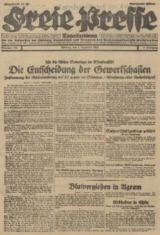 Freie Presse, Nr. 283 Montag 3. Dezember 1928 4. Jahrgang