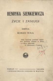 Henryka Sienkiewicza życie i zasługi