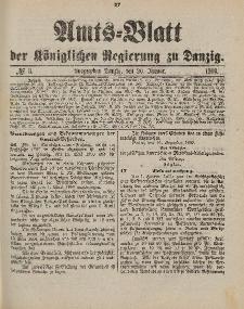 Amts-Blatt der Königlichen Regierung zu Danzig, 20. Januar 1900, Nr. 3