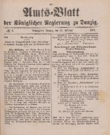 Amts-Blatt der Königlichen Regierung zu Danzig, 26. Februar 1898, Nr. 9