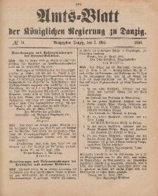 Amts-Blatt der Königlichen Regierung zu Danzig, 7. Mai 1898, Nr. 19