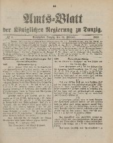 Amts-Blatt der Königlichen Regierung zu Danzig, 10. Februar 1900, Nr. 6