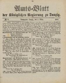 Amts-Blatt der Königlichen Regierung zu Danzig, 3. März 1900, Nr. 9
