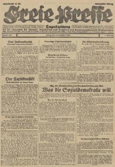 Freie Presse, Nr. 293 Freitag 14. Dezember 1928 4. Jahrgang