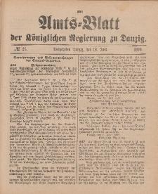 Amts-Blatt der Königlichen Regierung zu Danzig, 18. Juni 1898, Nr. 25