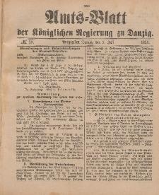 Amts-Blatt der Königlichen Regierung zu Danzig, 9. Juli 1898, Nr. 28