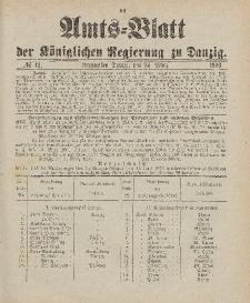 Amts-Blatt der Königlichen Regierung zu Danzig, 24. März 1900, Nr. 12