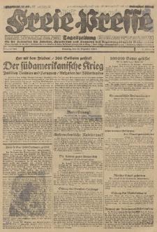 Freie Presse, Nr. 296 Dienstag 18. Dezember 1928 4. Jahrgang