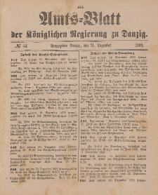 Amts-Blatt der Königlichen Regierung zu Danzig, 31. Dezember 1898, Nr. 53