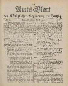 Amts-Blatt der Königlichen Regierung zu Danzig, 31. März 1900, Nr. 13