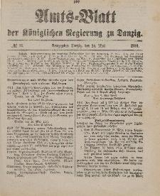 Amts-Blatt der Königlichen Regierung zu Danzig, 26. Mai 1900, Nr. 21