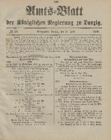 Amts-Blatt der Königlichen Regierung zu Danzig, 16. Juni 1900, Nr. 24