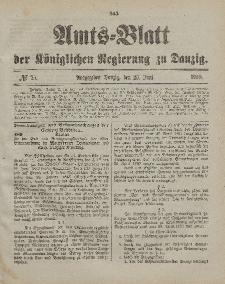 Amts-Blatt der Königlichen Regierung zu Danzig, 23. Juni 1900, Nr. 25