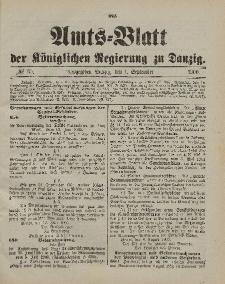 Amts-Blatt der Königlichen Regierung zu Danzig, 1. September 1900, Nr. 35