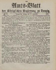 Amts-Blatt der Königlichen Regierung zu Danzig, 17. November 1900, Nr. 46