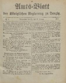 Amts-Blatt der Königlichen Regierung zu Danzig, 19. Januar 1901, Nr. 3