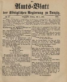 Amts-Blatt der Königlichen Regierung zu Danzig, 6. Juli 1901, Nr. 27