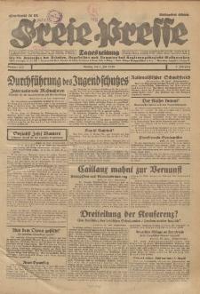 Freie Presse, Nr. 150 Montag 1. Juli 1929 5. Jahrgang