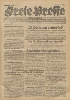 Freie Presse, Nr. 153 Donnerstag 4. Juli 1929 5. Jahrgang