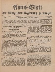 Amts-Blatt der Königlichen Regierung zu Danzig, 22. Februar 1902, Nr. 8