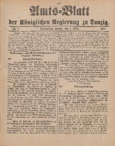 Amts-Blatt der Königlichen Regierung zu Danzig, 1. März 1902, Nr. 9