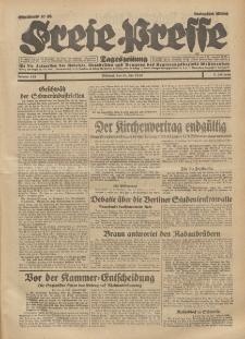 Freie Presse, Nr. 158 Mittwoch 10. Juli 1929 5. Jahrgang
