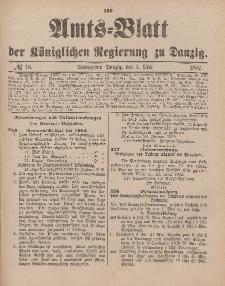 Amts-Blatt der Königlichen Regierung zu Danzig, 3. Mai 1902, Nr. 18