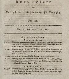 Amts-Blatt der Königlichen Regierung zu Danzig, 20. Juni 1822, Nr. 25