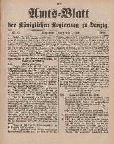 Amts-Blatt der Königlichen Regierung zu Danzig, 7. Juni 1902, Nr. 23