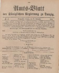 Amts-Blatt der Königlichen Regierung zu Danzig, 15. November 1902, Nr. 46