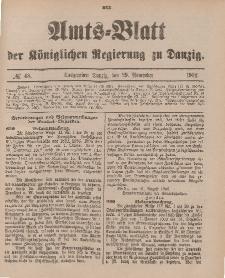 Amts-Blatt der Königlichen Regierung zu Danzig, 29. November 1902, Nr. 48