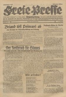 Freie Presse, Nr. 174 Montag 29. Juli 1929 5. Jahrgang