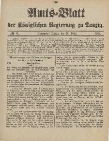 Amts-Blatt der Königlichen Regierung zu Danzig, 28. März 1903, Nr. 13