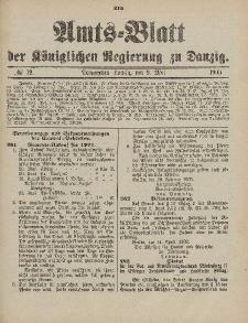Amts-Blatt der Königlichen Regierung zu Danzig, 9. Mai 1903, Nr. 19