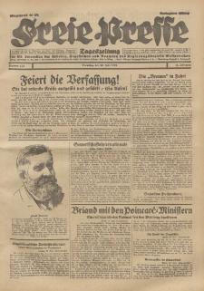 Freie Presse, Nr. 175 Dienstag 30. Juli 1929 5. Jahrgang