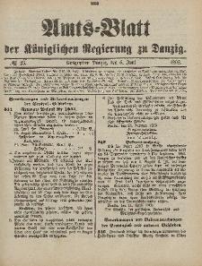 Amts-Blatt der Königlichen Regierung zu Danzig, 6. Juni 1903, Nr. 23