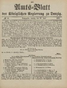 Amts-Blatt der Königlichen Regierung zu Danzig, 27. Juni 1903, Nr. 26