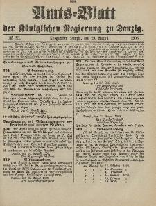 Amts-Blatt der Königlichen Regierung zu Danzig, 29. August 1903, Nr. 35