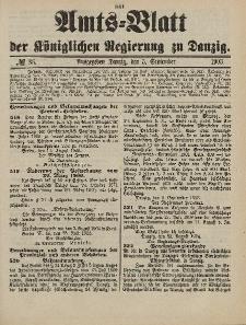 Amts-Blatt der Königlichen Regierung zu Danzig, 5. September 1903, Nr. 36